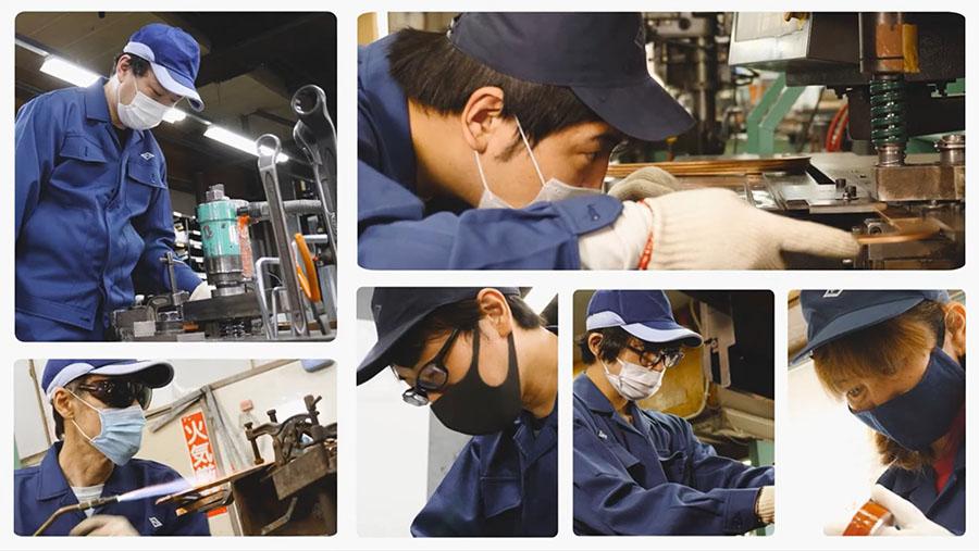 紡織機器バネ工業株式会社動画