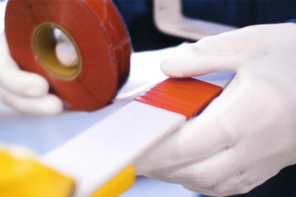 作業中のマスク・手袋の着用